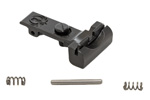 Rear Sight Assembly, Complete, w/ Bump, Blued w/ Stainless Steel Cross Pin