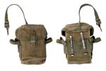 Magazine Pouch, Hard Back, 2 Pocket, OD Canvas (Holds 2-20 Rnd Mags)