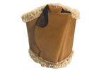 Holster, Ankle, Tan Leather