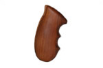 Grip, One Piece, Walnut w/ Finger Grooves