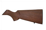 Stock Less Rifle Pad, Checkered Walnut