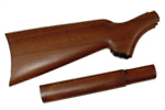 Stock, Pistol Grip, Plain Walnut