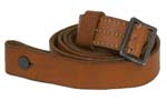 "Sling, Brown Leather, 1-1/8"", Good Condition"