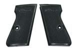 Grips, Black Plastic w/o Screws & Escutcheons, Original