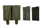 Magazine, 20 Round & Pouch Set (Incl. 2-Steel Mags & Green Rubber 2-Pocket Pouch