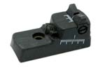 Rear Sight Assembly, Adjustable (Single Screw)