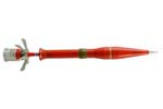980990 Czech Army NB73/PG15 73mm Training Rocket