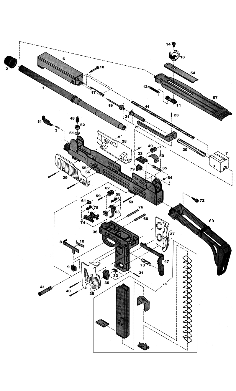 M1 Carbine Parts Schematic additionally Ak 47 Exploded Drawing additionally Ny Mag Release Mighty Small 304143 in addition Page 2 furthermore Hi Point Carbine Schematic. on hi point carbine schematic