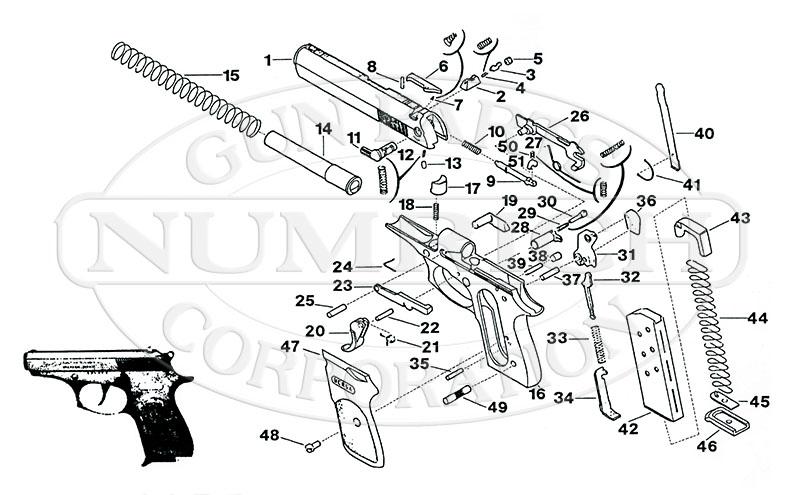 83 Bersa Accessories Numrich Gun Parts