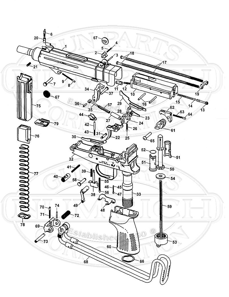 vz 61 skorpion accessories numrich gun parts. Black Bedroom Furniture Sets. Home Design Ideas