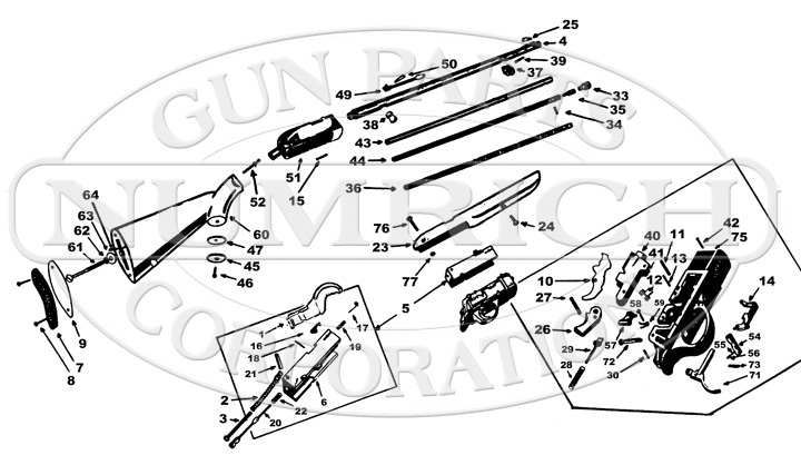 Remington Model 10 Parts Diagram Remington Get Free