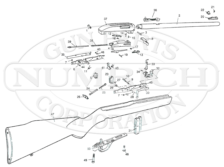 marlin model 795 parts diagram
