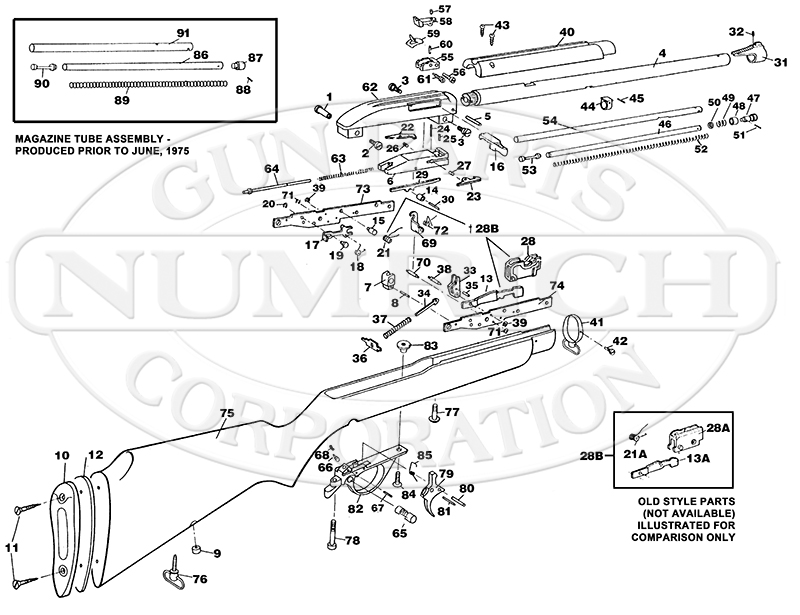 remington nylon 66 parts diagram 75 accessories numrich gun    parts     75 accessories numrich gun    parts
