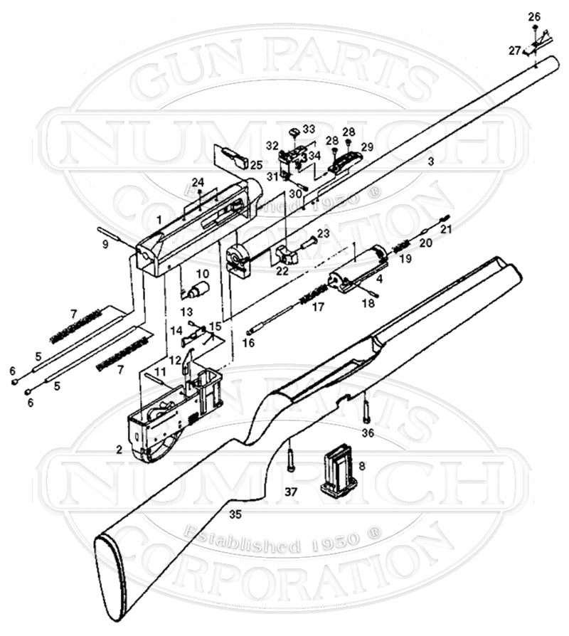 diagram for remington 597 bolt assembly wiring diagram for remington solar attic fan