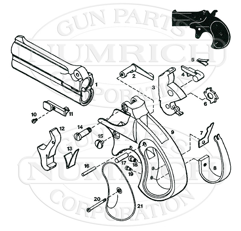 22 Derringer Schematic Related Keywords & Suggestions - 22 ... on