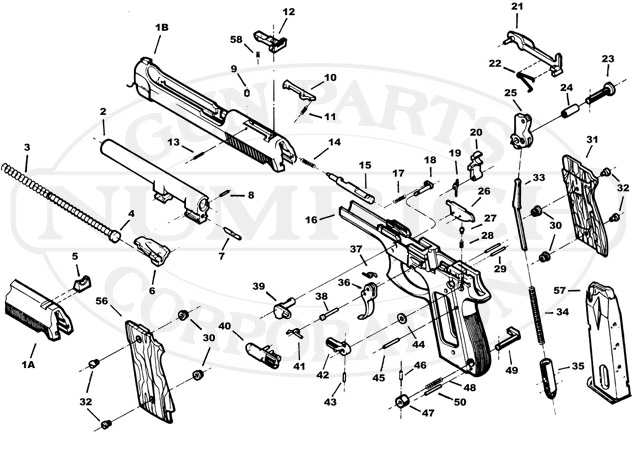 Taurus Model 66 Parts Diagram Com