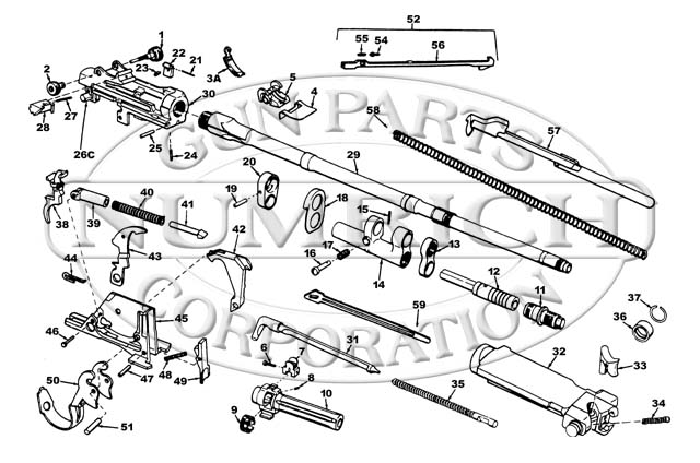 Parts List M14 Accessories Numrich Gun Parts