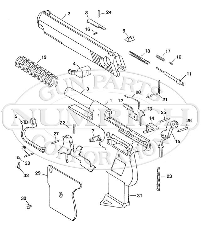 Accu-Tek AT-32 gun schematic