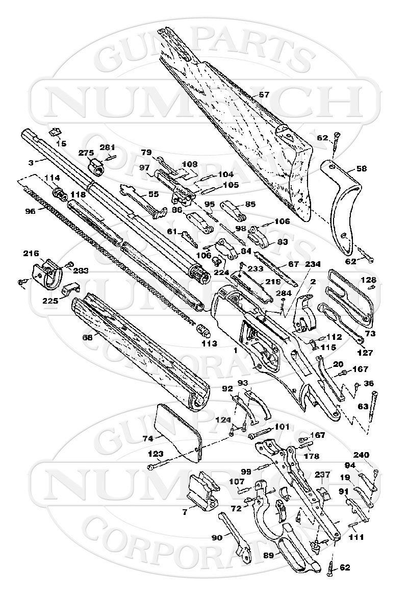 winchester model 92 parts diagram  winchester  free engine