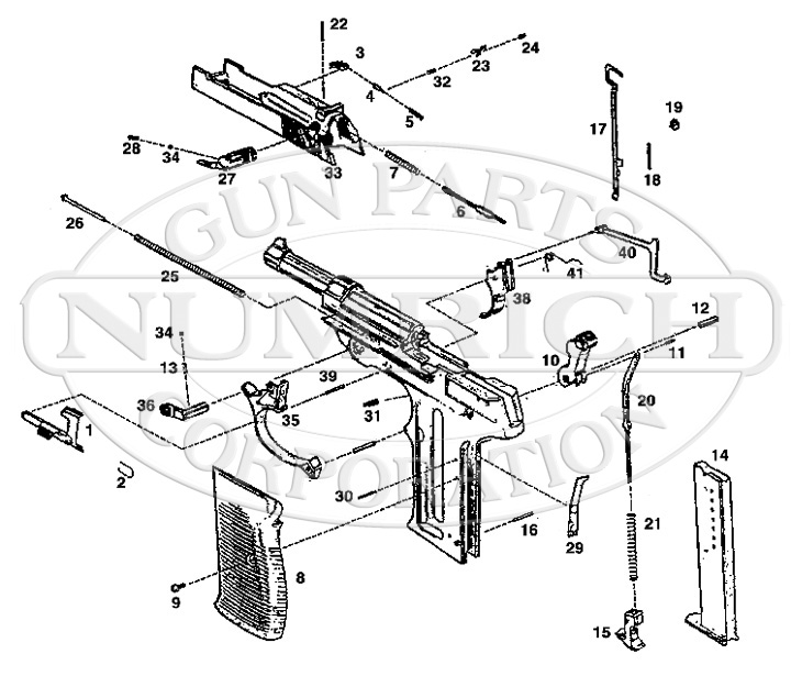 American Arms P 98 Parts