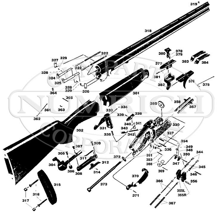 Lanber Silver Sporting gun schematic
