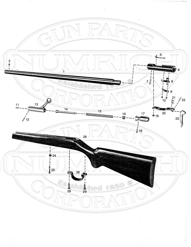 Anschutz 1365 gun schematic
