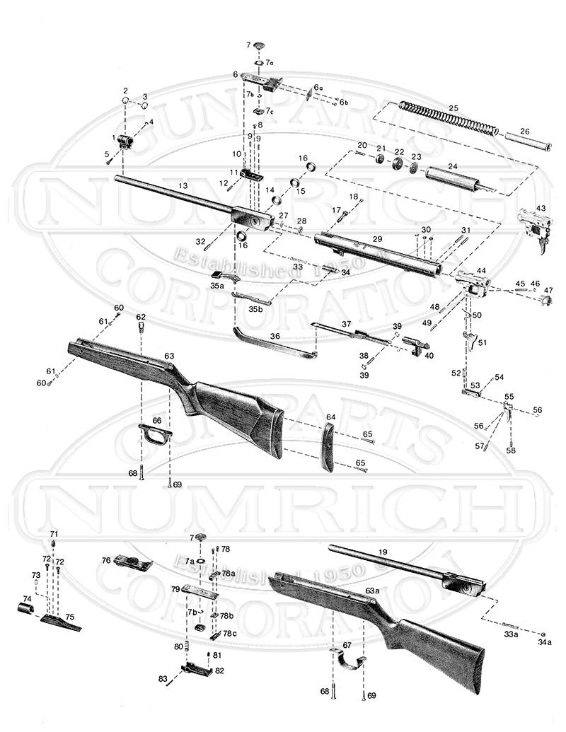 Anschutz 333 gun schematic