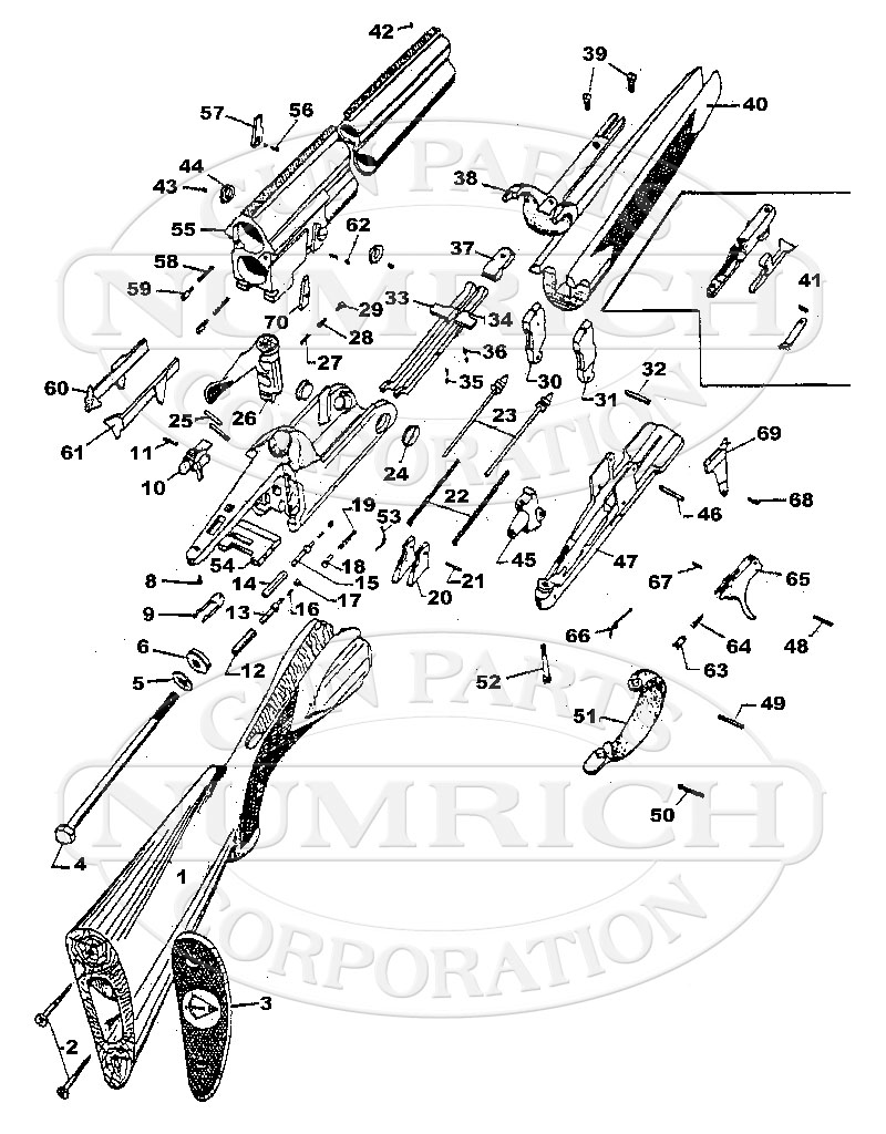 Antonio Zoli Z90 gun schematic