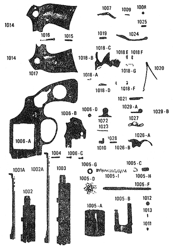 Armscor (Of The Philippines) Revolvers Thunderchief gun schematic
