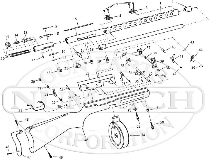 Mitchell PPS/50 gun schematic
