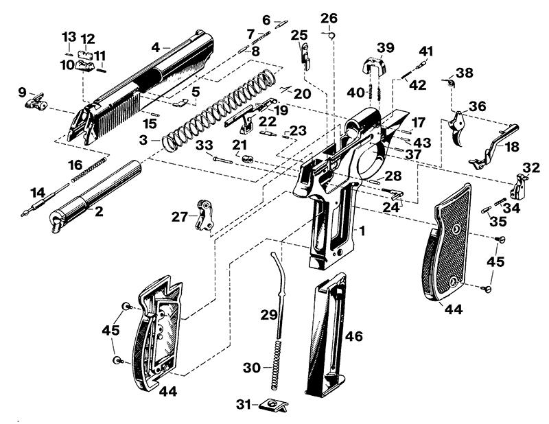 astra constable guns parts