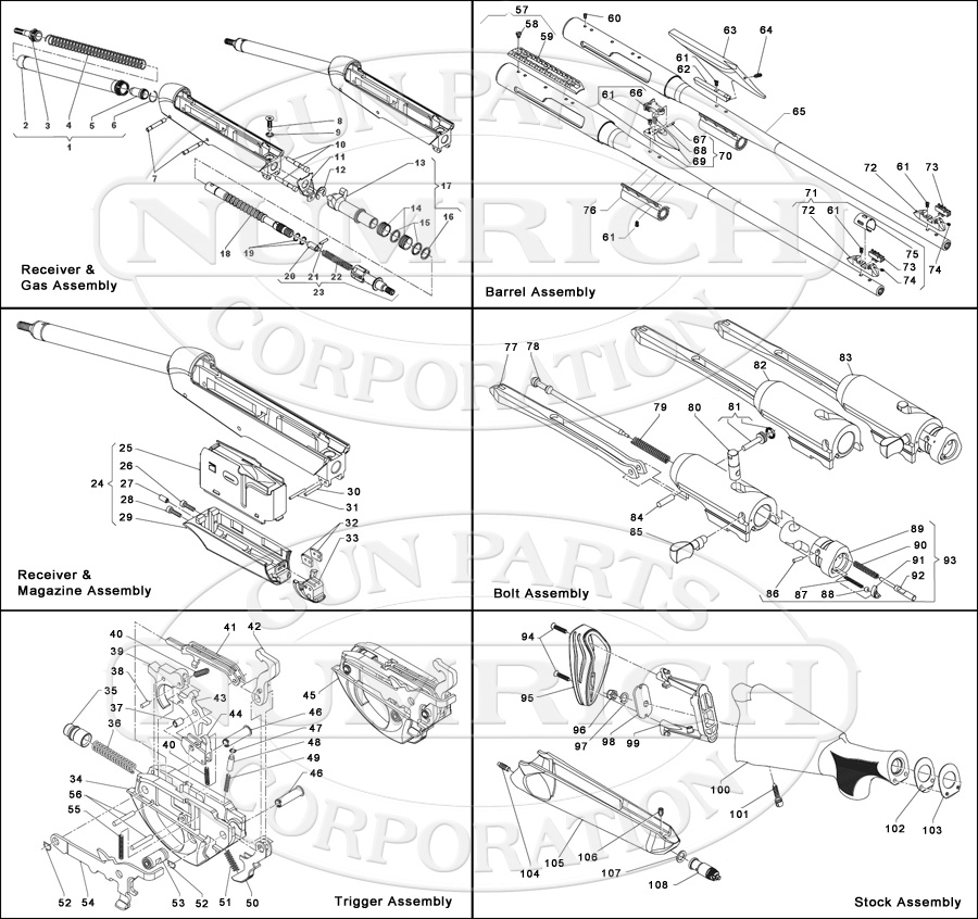 Stoeger 2000 Parts Diagram Car Interior Design