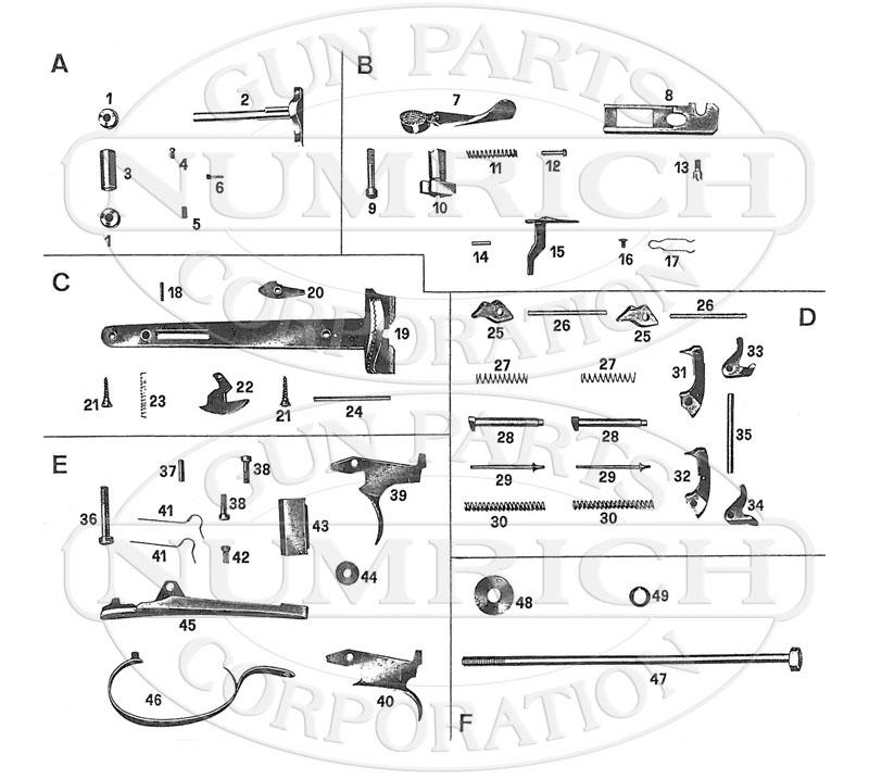 Beretta Shotguns 426 gun schematic