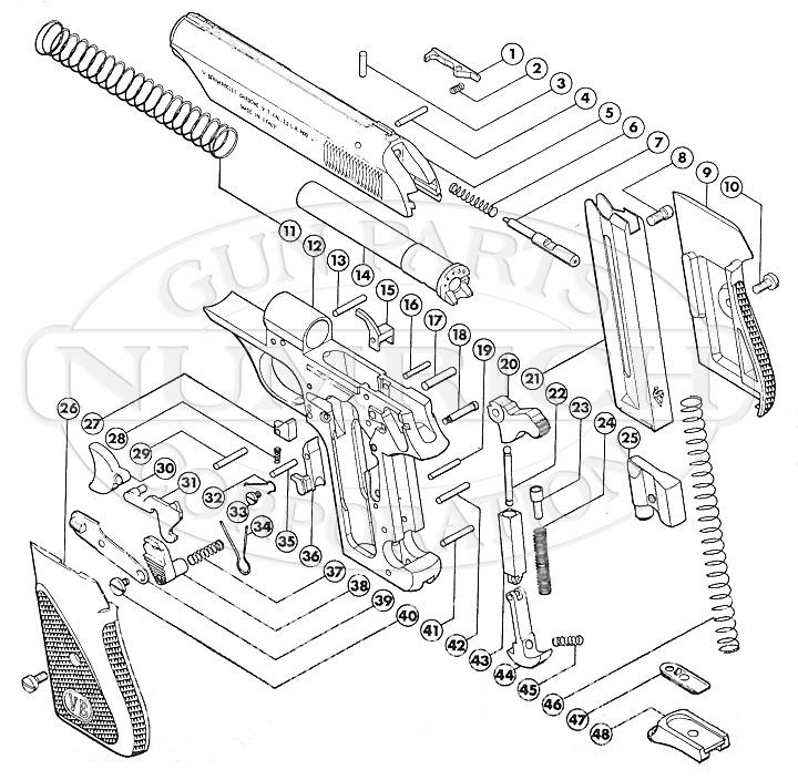 Bernardelli 60 gun schematic