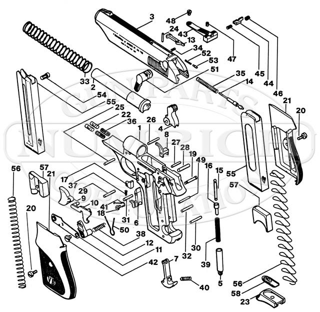 Bernardelli 80 gun schematic