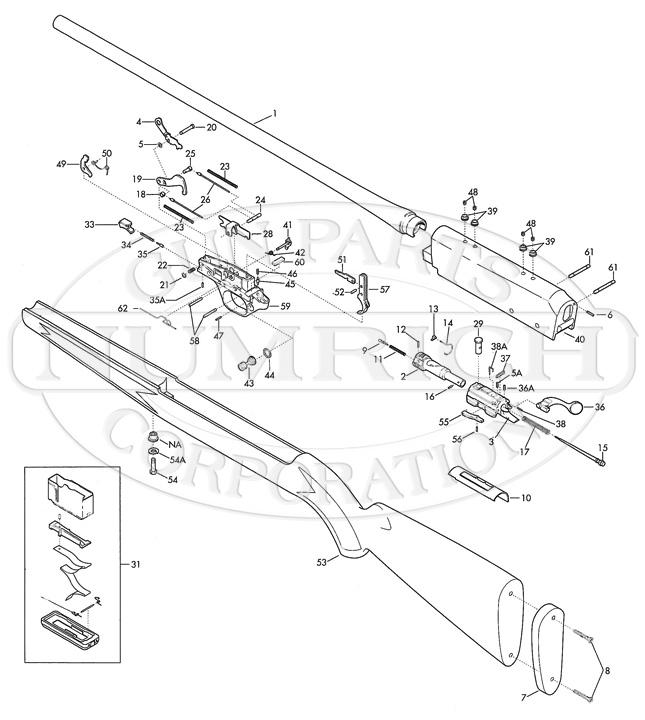 Browning Rifles Acera gun schematic