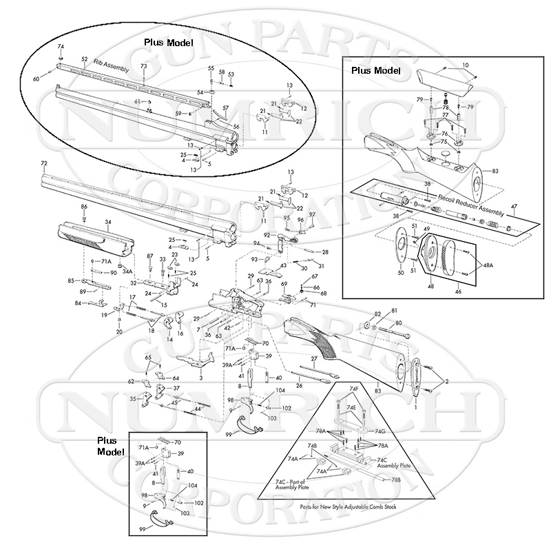 Browning Citori Parts Diagram