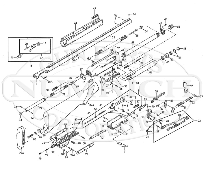 Browning Gold 10 Shotgun Parts | Numrich Gun Parts