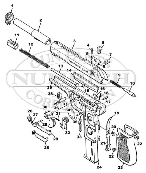 CZ 26 Parts | Numrich Gun Parts