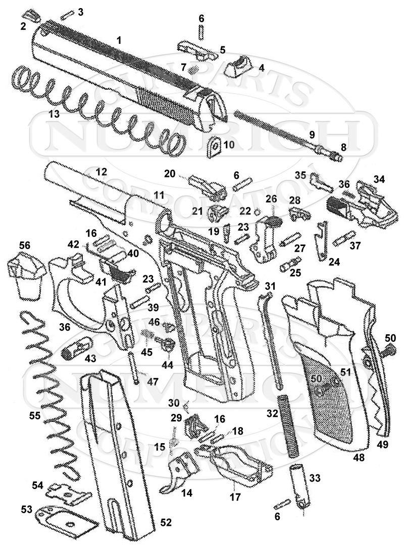82 pistol schematic