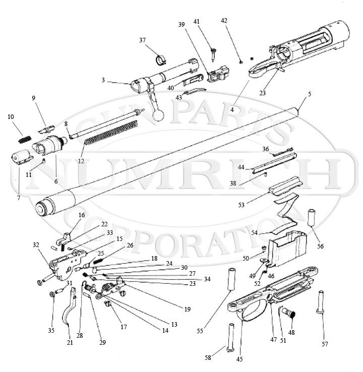 Remington 799 Rifle Parts | Numrich Gun Parts