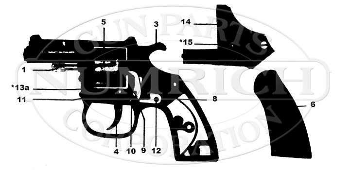 Clerke First ME-21 gun schematic