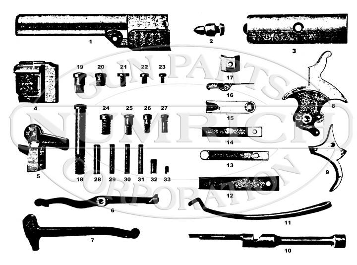 lightning 22 rimfire rifle schematic