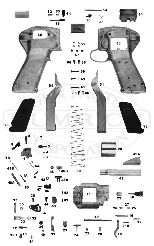 Dardick 1500 gun schematic