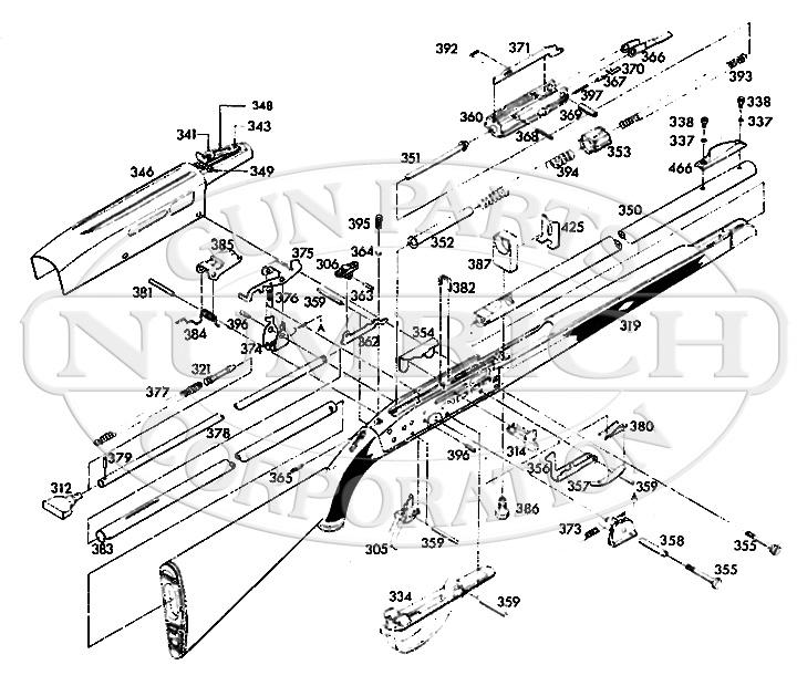 FIE Rifles GR-8 gun schematic