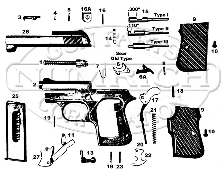Targa GT-27 gun schematic