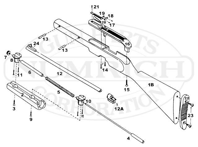 FI (Firearms International) Combo Gun gun schematic