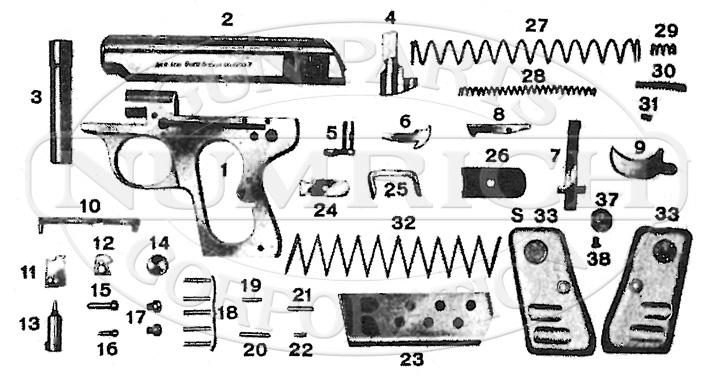 Galesi 503 gun schematic