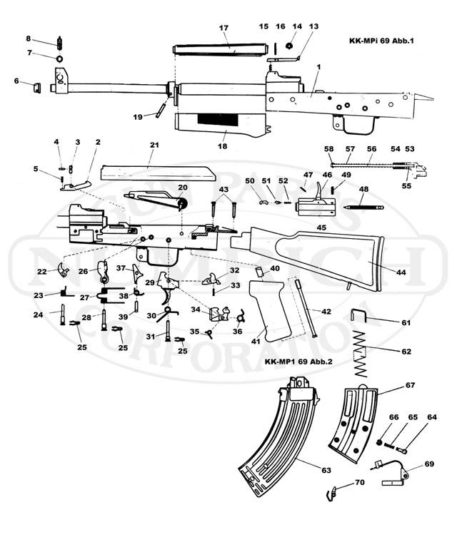 MPI-69 gun schematic