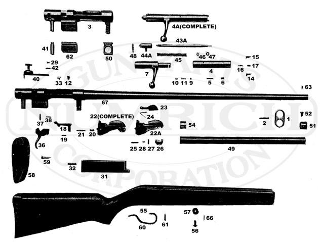 Harrington & Richardson Shotguns 120 gun schematic